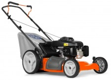 Husqvarna self-propelled Lawnmower from Ardkeen Hire Ltd.  Dependable, easy-to-start walk-behind mower that is simple to use & cut your grass perfectly every time